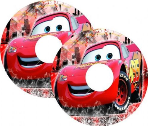 CARS McQUEEN Wheelchair Spoke Guards
